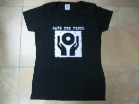 Save The Vinyl dámske tričko Fruit of The Loom 100%bavlna