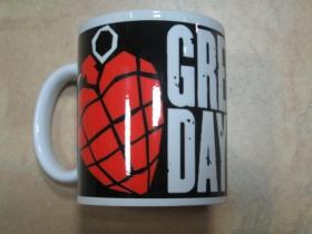 Green Day porcelánový pohár s uškom, objemom cca. 0,33L