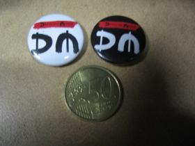 Depeche Mode odznak priemer 25mm