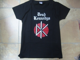 Dead Kennedys  čierne dámske tričko 100%bavlna