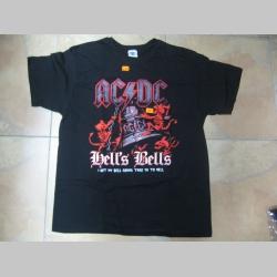 AC/DC čierne pánske tričko 100%bavlna