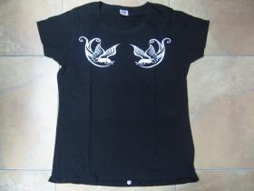 Swallows - Tattoo lastovičky  dámske tričko Fruit of The Loom 100%bavlna