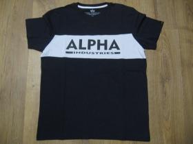 Alpha Industries pánske tričko materiál 100%bavlna farba: tmavomodrobiele
