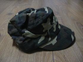 šiltovka - čiapka US maskáčová 100%bavlna, univerzálna nastaviteľná veľkosť
