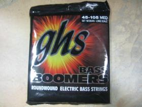 GHS Boomers Bass  Struny na elektrickú  basgitaru 4strunovú  45-105 Medium  Long Scale