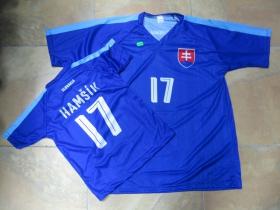 Slovensko futbalový dres č.17 HAMŠÍK  detský aj dospelý strih   materiál: 100%polyester