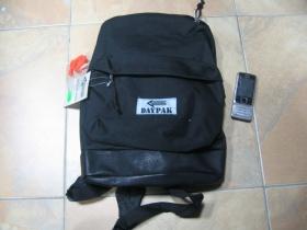 čierny stredne veľký ruksak značka COMMANDO so spevneným spodkom zo syntetickej kože