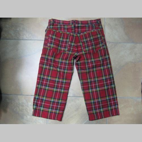 6a6268f3b53b 3 4ťové kraťasy - krátke nohavice Škótske káro TARTAN pánske aj dámske 100% bavlna