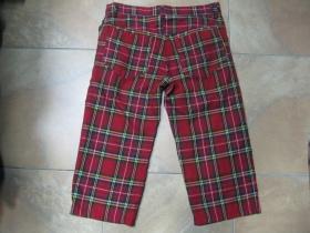 3/4ťové kraťasy - krátke nohavice Škótske káro TARTAN pánske aj dámske 100%bavlna