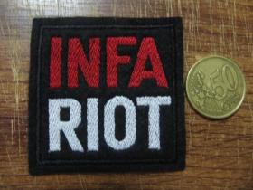 Infa Riot vyšívaná nášivka - posledný kus!!!