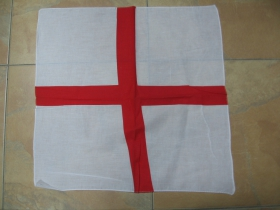 Šatka Anglická vlajka 100%bavlna, cca.52x52cm