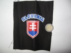 Slovakia, potlačená nášivka po krajoch neobšívaná cca 12x12cm