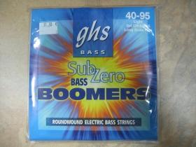 GHS Boomers Sub Zero  Struny na elektrickú  basgitaru 4strunovú  40-95 Light,  Long scale plus