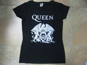 Queen čierne dámske tričko 100%bavlna