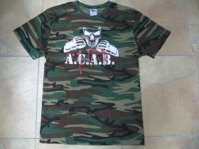 A.C.A.B.   maskáčové pánske tričko 100%bavlna