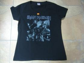 Iron Maiden čierne dámske tričko 100%bavlna