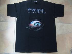 Tool čierne pánske tričko 100%bavlna
