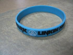 Linkin Park pružný silikónový náramok s vyrazeným motívom