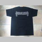 Dissection čierne pánske tričko materiál 100%bavlna