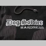 """Dog Soldier hrubá maskáčová mikina na zips s kapucou vzor Nightcamo - Nočný maskáč """" Splinter """""""