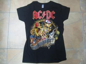 AC/DC - Are You Ready?  čierne dámske tričko