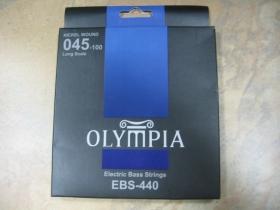 Olympia BASS EBS-440 Nickel Wound Struny na elektrickú  basgitaru 4.strunovú  045-100 Long Scale