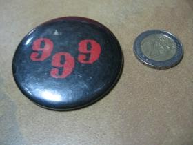 999  odznak veľký, priemer 55mm