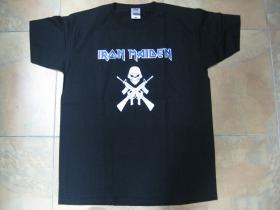 Iron Maiden, čierne pánske tričko 100%bavlna