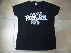 Rock n Roll dámske tričko Fruit of The Loom 100%bavlna