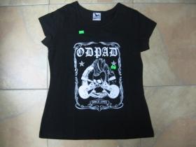 Odpad ámske čierne tričko 100%bavlna