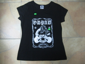 Odpad dámske čierne tričko 100%bavlna