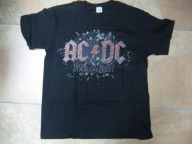 AC/DC pánske tričko čierne 100%bavlna