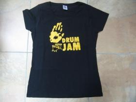 Drum Jam Bongo  dámske tričko Fruit of The Loom 100%bavlna