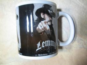 Lemmy - Motorhead porcelánový pohár - šálka s uškom, objemom cca. 0,33L