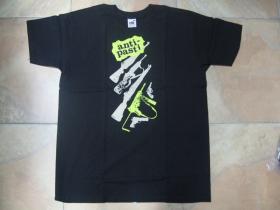 Anti - Pasti čierne pánske tričko materiál 100% bavlna