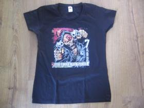 FIVE FINGER DEATH PUNCH čierne dámske tričko 100%bavlna