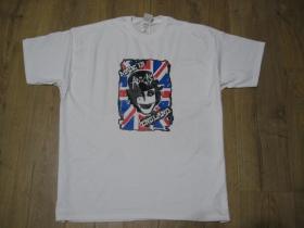 Adicts biele pánske tričko 100%bavlna