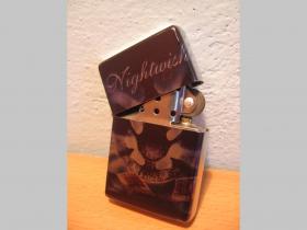 Nightwish  benzínový zapalovač s vypalovaným obrázkom (balené v darčekovej krabičke)