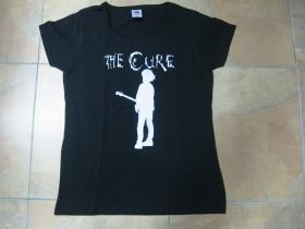 The Cure čierne dámske tričko 100%bavlna