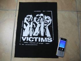 Victims chrbtová nášivka veľkosť cca. A4 (po krajoch neobšívaná)
