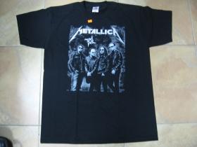 Metallica  čierne pánske tričko 100%bavlna