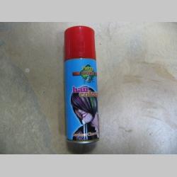 Spray na vlasy zmývateľný červený, objem 125ml