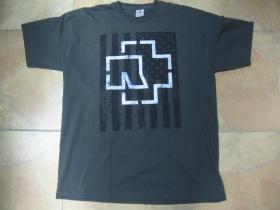 Rammstein šedé pánske tričko 100%bavlna