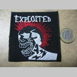 The Exploited nažehľovacia nášivka vyšívaná (možnosť nažehliť alebo našiť na odev)