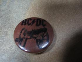 AC/DC odznak 25 mm