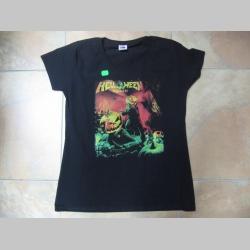 Helloween čierne dámske tričko 100% bavlna