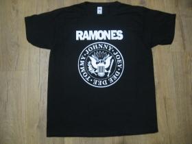 Ramones čierne pánske tričko materiál 100%bavlna
