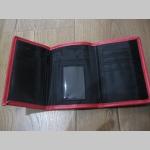 Peňaženka s 3D gumovým logom PORN, Materiál: 60% syntetická koža, 40% polyester  rozmery: 14,5x10x2cm