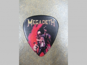 Megadeth plastové brnkátko na gitaru hrúbka 0,77mm