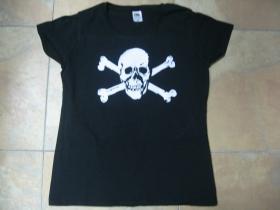 Smrtka  čierne dámske tričko 100%bavlna  značka Fruit of The Loom